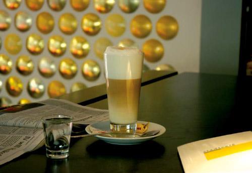 Latte Macchiato im stadtcafé