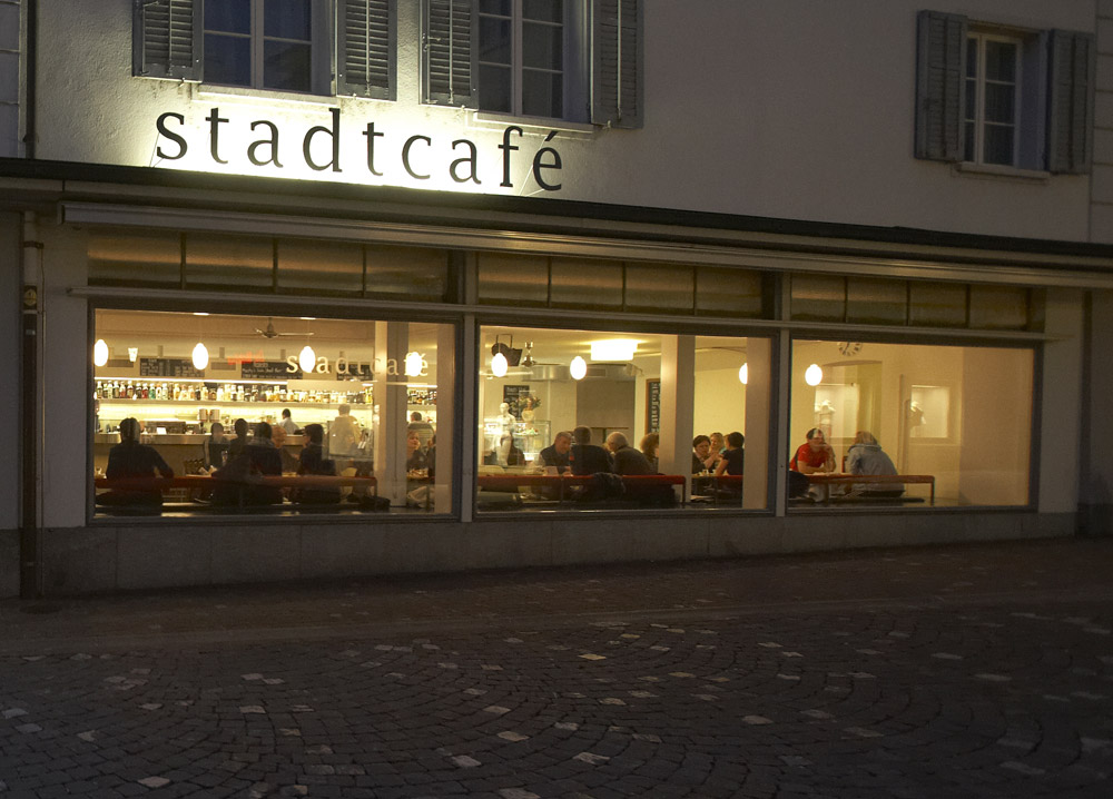 stadtcafé Aussenansicht