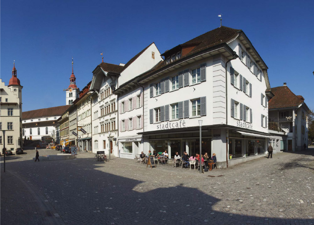 das stadtcafé in der Altstadt